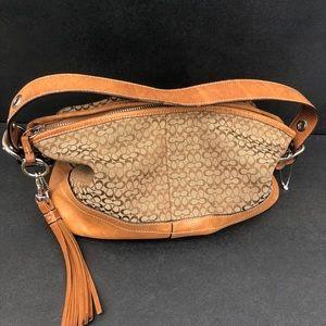 Tassels coach women's Handbag